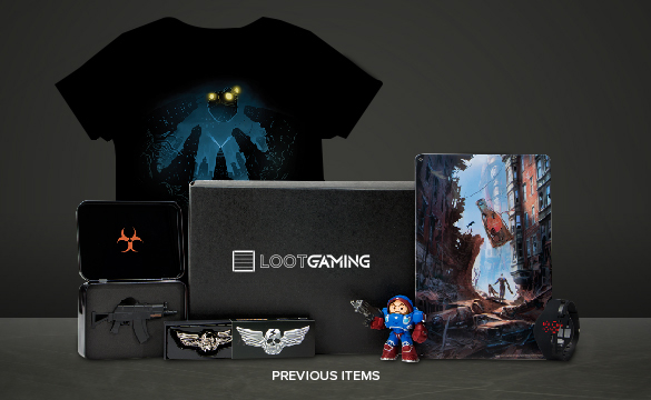 Gaming Monthly Subscription Crate With Geeky Themes Loot